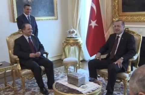 Erdoğan Barzanı İle Görüştü