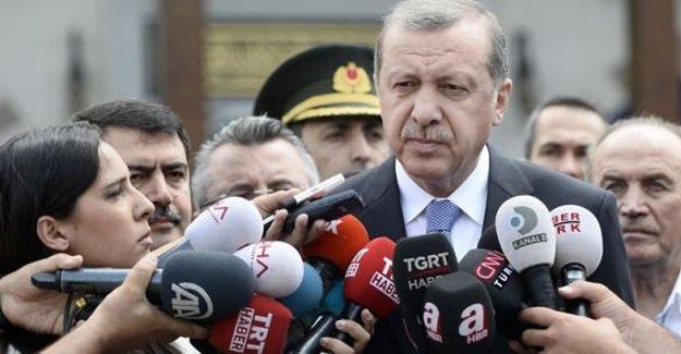 Erdoğan'dan IŞİD operasyonu açıklaması