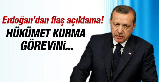 Erdoğan: Hükümet kurma görevini seçimden sonra vereceğim