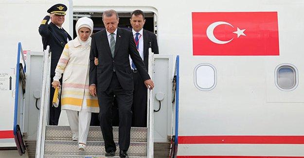 Erdoğan'ı memleket hasreti erken döndürmüş