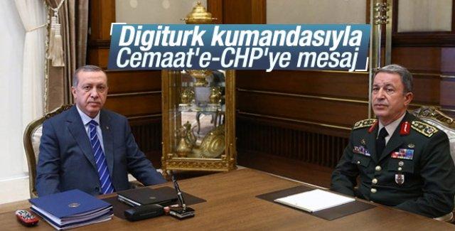 Erdoğan'ın masasında Digiturk ayrıntısı