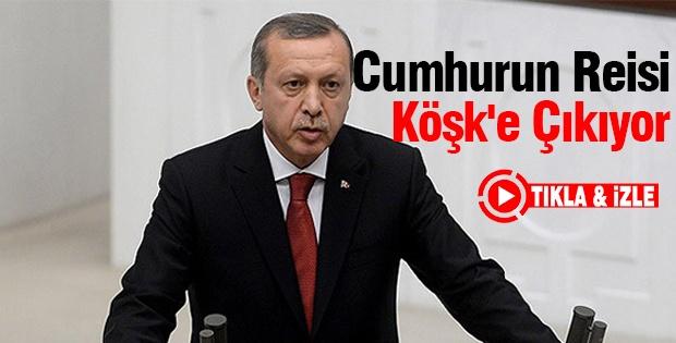 ERDOĞAN, MECLİS'TE MAZBATA ALDI, YEMİN ETTİ