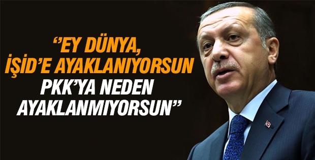 Erdoğan yine aynı soruyu sordu