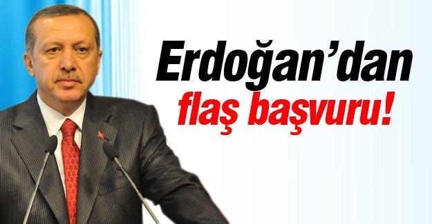 Erdoğan'dan flaş başvuru!