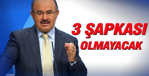 Erdoğan'ın 3 şapkası olmayacak