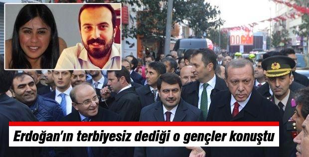 Erdoğan'ın Terbiyesiz Dediği O Gençler Konuştu
