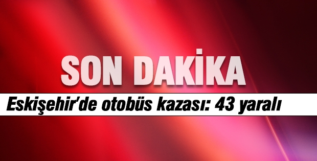 Eskişehir'de Öğrenci Otobüsü Devrildi