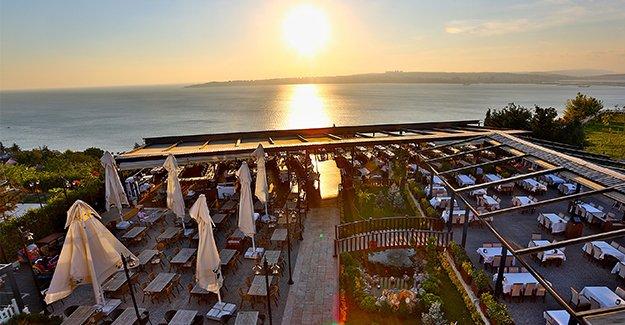 Eşsiz manzara huzurlu ortam Cemil Hoca Restaurant
