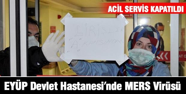 EYÜP Devlet Hastanesi'nde MERS Virüsü