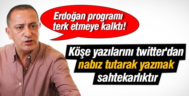 Fatih Altaylı Ahmet Hakan'a sahtekar dedi