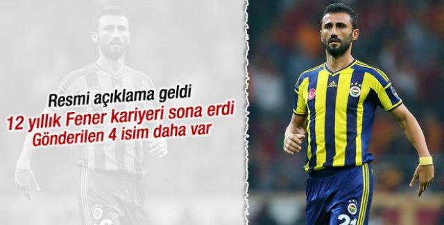 Fenerbahçe 5 isimle yollarını ayırdı