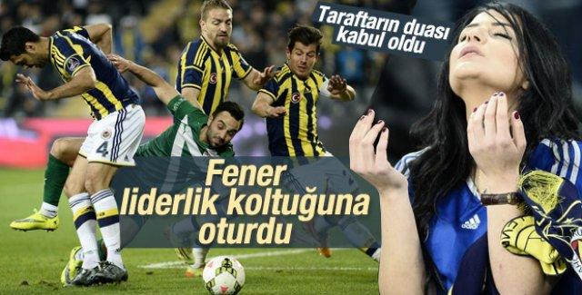 Fenerbahçe Bursaspor'u mağlup etti