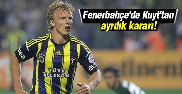 Fenerbahçe'de Kuyt'tan ayrılık kararı!