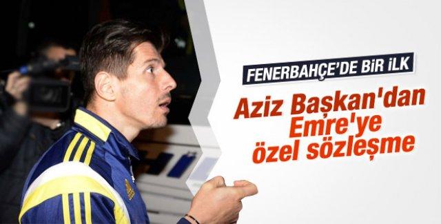 Fenerbahçe'den Emre Belözoğlu'na özel sözleşme
