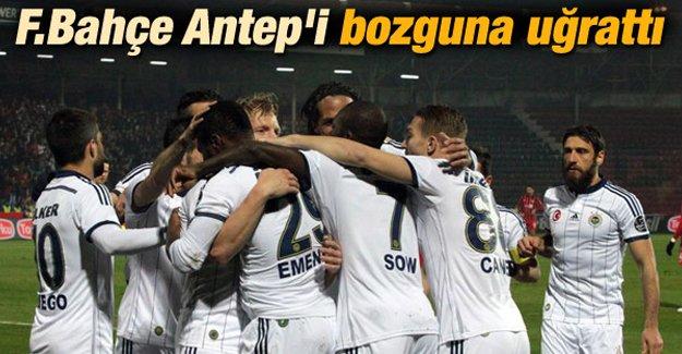 Fenerbahçe Gaziantep'i bozguna uğrattı