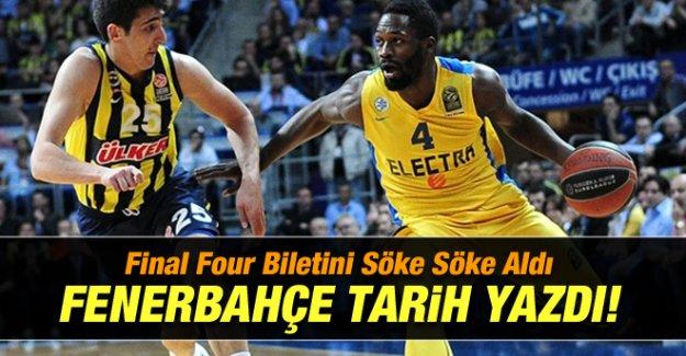 Fenerbahçe Ülker'den Tarihi Başarı