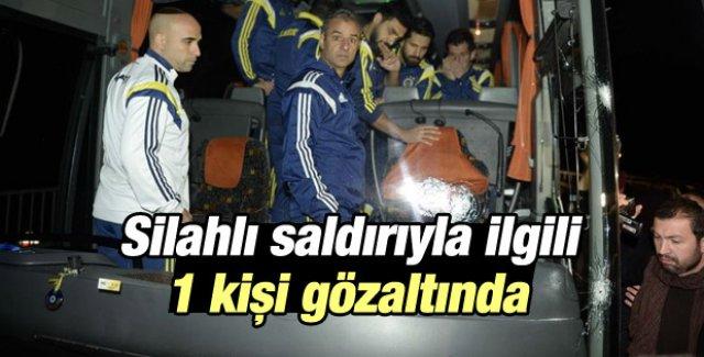 Fenerbahçe'ye silahli saldırıyla ilgili 1 kişi gözaltında