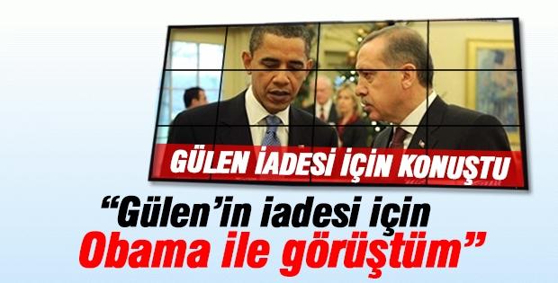 Erdoğan Gülen'in iadesiyle ilgili açıklama yaptı