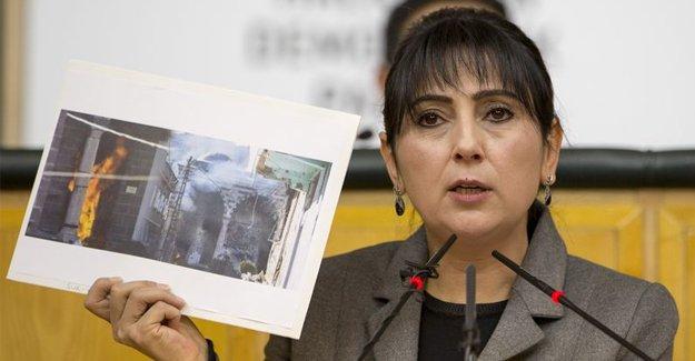 Figen Yüksekdağ camiyi devlet yaktı dedi