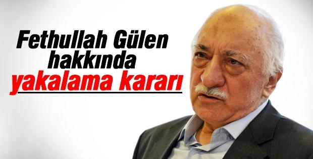 Flaş flaş flaş! Fethullah Gülen hakkında yakalama kararı!