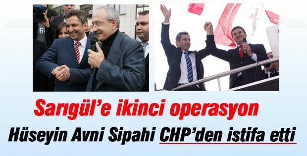Flaş! Hüseyin Avni Sipahi CHP'den istifa etti