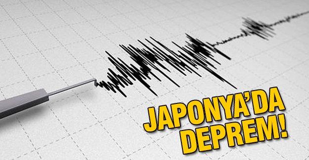 Flaş! Japonya'da deprem!