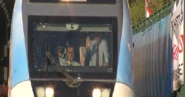 Başbakan Erdoğan Yüksek Hızlı Tren Hattı Açılışında Konuştu