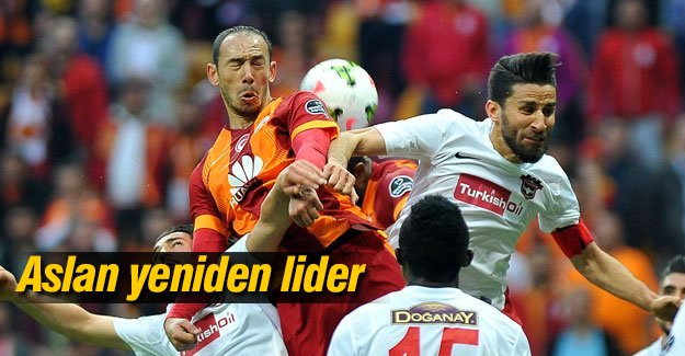 Galatasaray 1-0'lık galibiyetle lider oldu