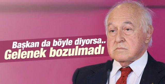 Galatasaray Başkanı Duygun Yarsuvat'ın derbi yorumu