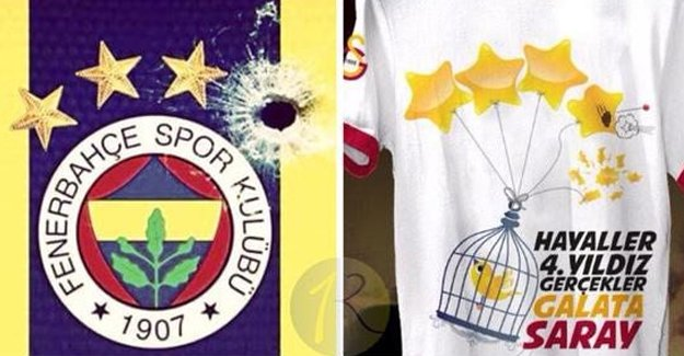 Galatasaray'dan Fenerbahçelileri çıldırtan tişört