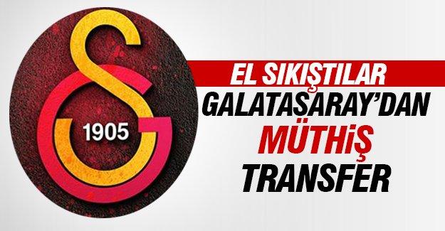 Galatasaray'dan müthiş transfer