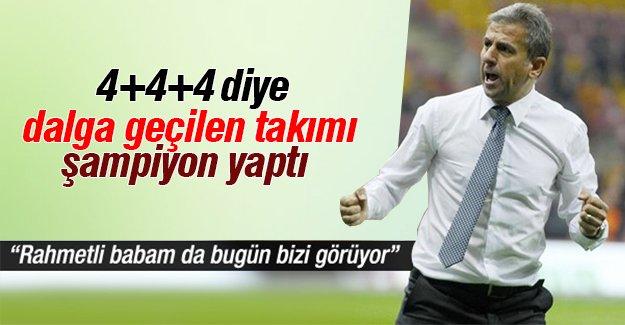 Galatasaray'ı ayağa kaldıran hoca Hamza Hamzaoğlu