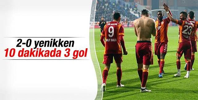 Galatasaray Kasımpaşa'yı 3-2 yendi