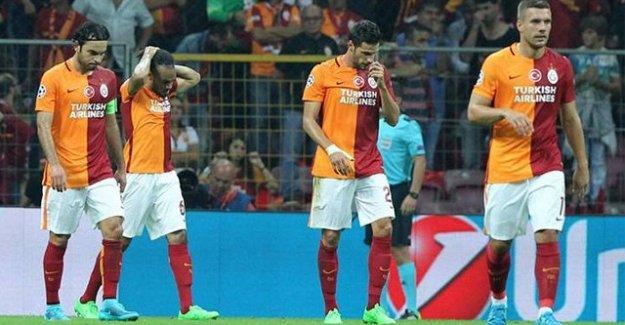 Galatasaray Şampiyonlar Ligine Kötü Başladı