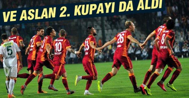 Galatasaray Türkiye Kupası'nı aldı!