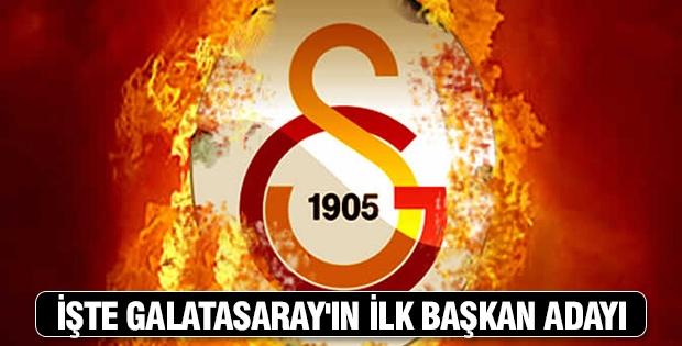 Galatasaray'ın ilk başkan adayı Alp Yalman oldu