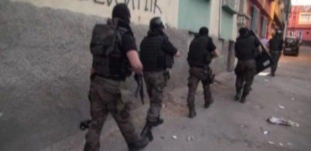 Gaziantep'te terör örgütüne operasyon
