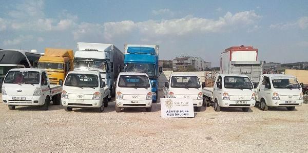 Gaziantep'te Oto Hırsızlık Operasyonu: 7 Tutuklama