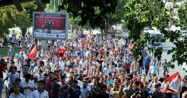Gaziantep'te 'suriyelileri İstemiyoruz' Protestosuna 20 Gözaltı