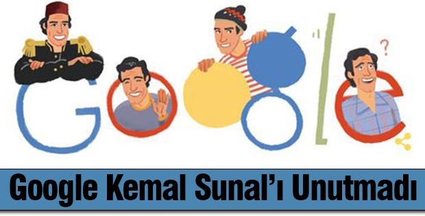 Google Kemal Sunal'ı unutmadı