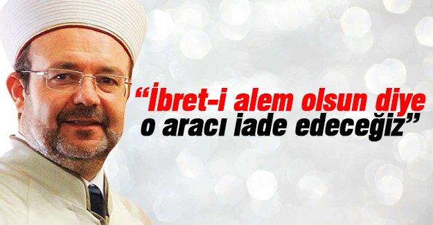 """GÖRMEZ'DEN """"1 MİLYONLUK ARAÇ"""" AÇIKLAMASI"""