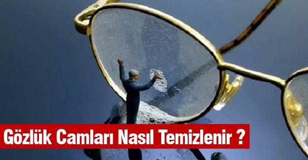 Gözlük Camları Nasıl Temizlenir ?