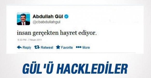 Gül'ün Twitter Hesabı Hacklendi
