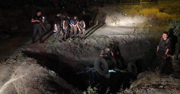 Hakkari'de Polis Aracı Kaza Yaptı: 2 Yaralı