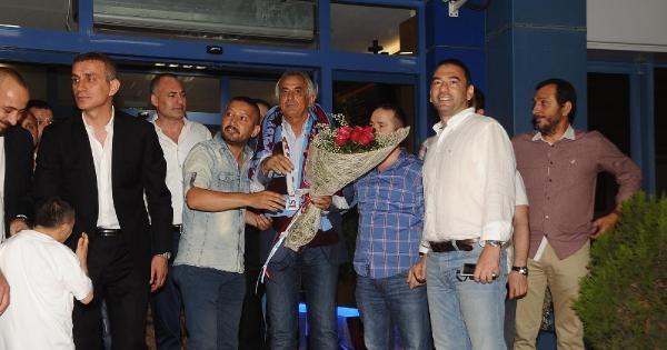 Halilhodzic Trabzon'da Coşkuyla Karşılandı
