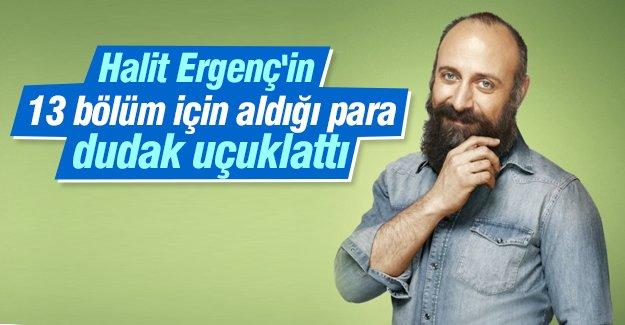Halit Ergenç'in 13 bölüm için aldığı para dudak uçuklattı