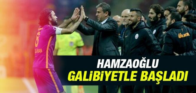 Hamza Hamzaoğlu galibiyetle başladı