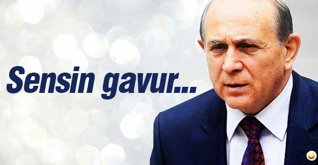 """Hayko Bağdat: """"Sensin gavur"""""""