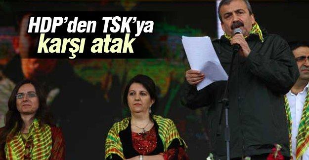 HDP'den TSK'ya karşı atak