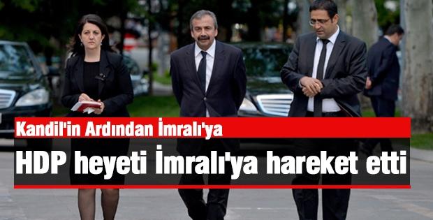 HDP Heyeti İmralı'ya Harekete Etti
